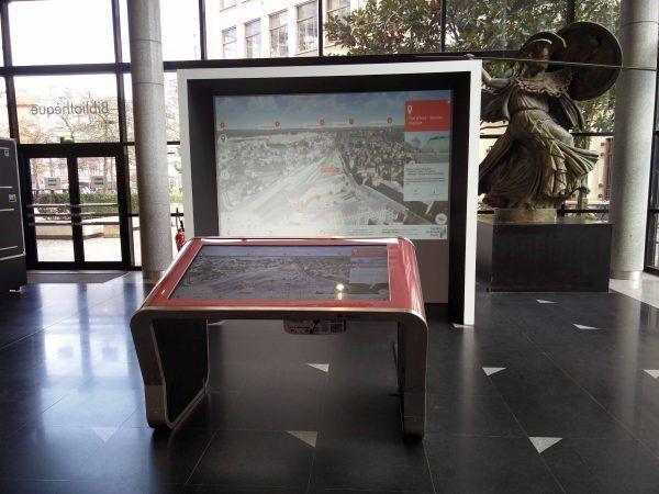 Table tactile modèle E - SGP - Itekube