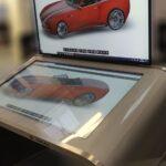 Table tactile interactive Modele E Double-Ecrans