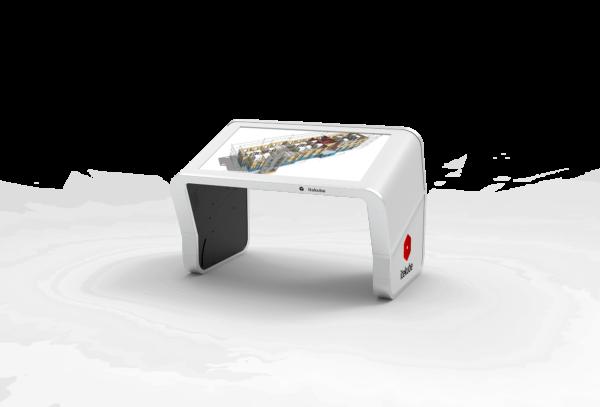 Table tactile Modèle E incliné bim