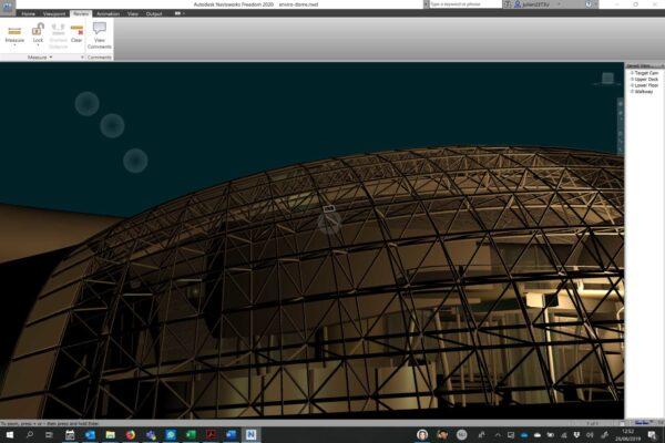 Autodesk Navisworks Freedom Measuring step 2